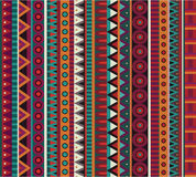 Abstract vector ethnic seamless pattern Stock Image