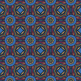 Abstract vector ethnic seamless pattern. Abstract vector tribal ethnic background seamless pattern Royalty Free Stock Photography
