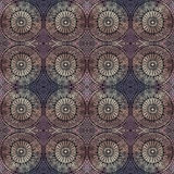 Abstract vector ethnic seamless pattern Royalty Free Stock Image