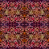 Abstract vector ethnic seamless pattern Stock Photography