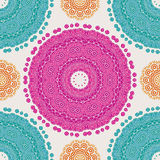 Abstract vector ethnic seamless pattern. Use for wallpaper,pattern fills, web page background Stock Image