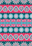Abstract vector ethnic seamless pattern. Royalty Free Stock Photos
