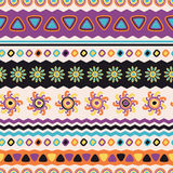 Abstract vector ethnic seamless pattern. Use for wallpaper, patt Royalty Free Stock Images