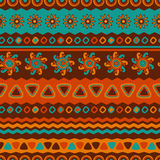 Abstract vector ethnic seamless pattern. Use for wallpaper, patt Royalty Free Stock Photography