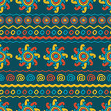 Abstract vector ethnic seamless pattern. Use for wallpaper, patt Stock Images