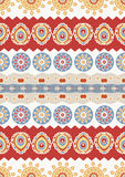Abstract vector ethnic seamless pattern. Use for wallpaper,patte Stock Image
