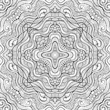 Abstract vector ethnic sketchy background Royalty Free Stock Images