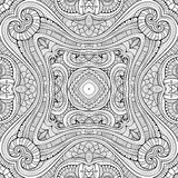 Abstract vector ethnic sketchy background Royalty Free Stock Photography