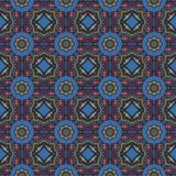 Abstract vector etnisch naadloos patroon Royalty-vrije Stock Fotografie