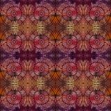 Abstract vector etnisch naadloos patroon Stock Fotografie