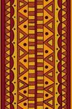Abstract vector etnisch naadloos patroon Stock Foto