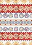 Abstract vector etnisch naadloos patroon Gebruik voor behang, patte Stock Afbeelding