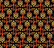 Abstract vector firebird pattern Royalty Free Stock Images