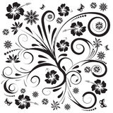 Abstract vector floral design Stock Photo
