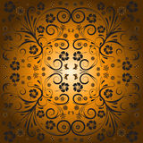Abstract vector floral design Royalty Free Stock Images