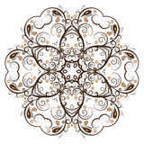 Abstract vector floral design Stock Image