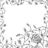 Abstract  vector floral frame Stock Images