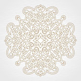 Abstract vector floral ornament. Stock Image