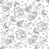 Abstract vector floral ornament.Vintage ornament background. Stock Photography