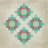 Abstract vector floral and ornamental item Royalty Free Stock Images