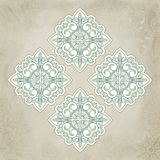 Abstract vector floral and ornamental item Stock Photography