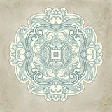 Abstract vector floral and ornamental item Stock Images