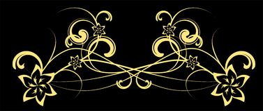 Abstract Vector flower Royalty Free Stock Photos