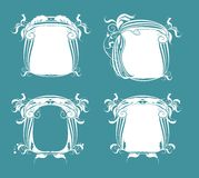 Abstract  vector frames Royalty Free Stock Image