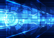 Abstract vector future technology internet background illustration Royalty Free Stock Images
