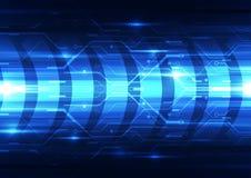 Abstract vector future technology speed background illustration Stock Photo