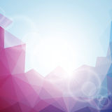 Abstract vector geometric background design. vector illustration