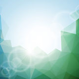 Abstract vector geometric background design. Stock Photo
