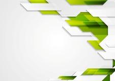 Abstract vector geometric bright design Stock Photos