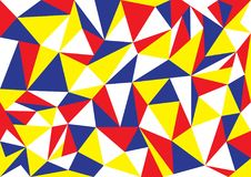 Abstract vector Geometric pop art pattern background royalty free illustration