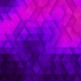 Abstract Vector Geometric Technological Violet And Pink  Backgro Royalty Free Stock Photos