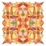 Abstract Vector Geometrical Multicolored Backgroun Royalty Free Stock Image