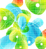 Abstract vector glass color shapes background Royalty Free Stock Photo