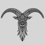 Abstract vector goat Royalty Free Stock Photos