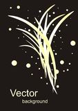 Abstract vector gold background Royalty Free Stock Images