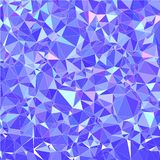 Abstract vector in gradiënt driehoekig patroon Moderne veelhoekige achtergrond stock foto