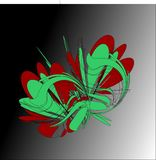 Abstract Vector Graphic Image royalty free illustration