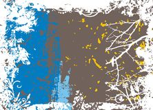 Abstract vector grunge background Royalty Free Stock Photography