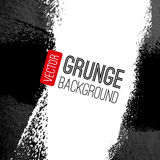 Abstract vector grunge background. Black and white Royalty Free Stock Image