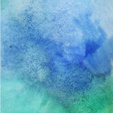 Abstract vector hand-drawn watercolor background Royalty Free Stock Images