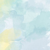Abstract vector hand-drawn watercolor background Stock Image