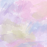 Abstract vector hand-drawn watercolor background Stock Photo
