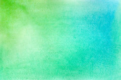 Abstract vector hand-drawn watercolor background. Stock Images