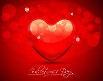 Abstract  Vector Heart for Valentines Day Backgrou. Design Template - Vector Heart for Valentines Day Background Stock Image