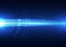 Abstract vector hi speed technology internet background. Innovation Stock Image