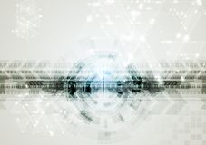 Abstract vector hi-tech background Stock Photos